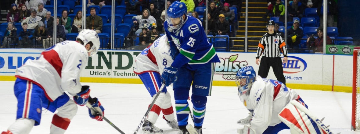 COMETS GO FOR THIRD STRAIGHT WIN AGAINST LAVAL