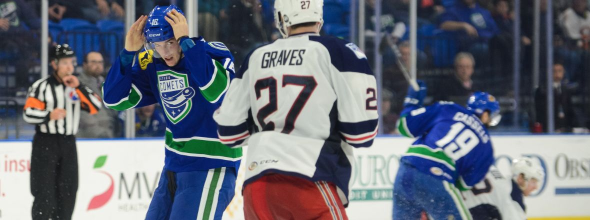 COMETS FIGHT FOR PLAYOFF LIVES