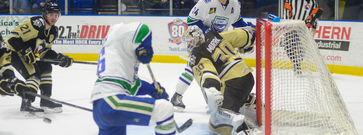 Comets Rally Big in OT Loss