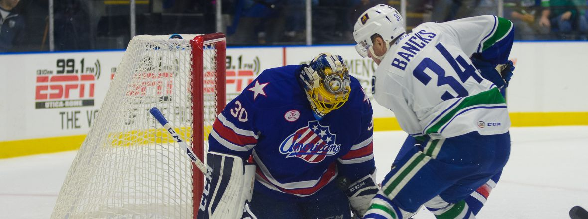 Cassel's Short-Handed Tally Lands Comets a Win