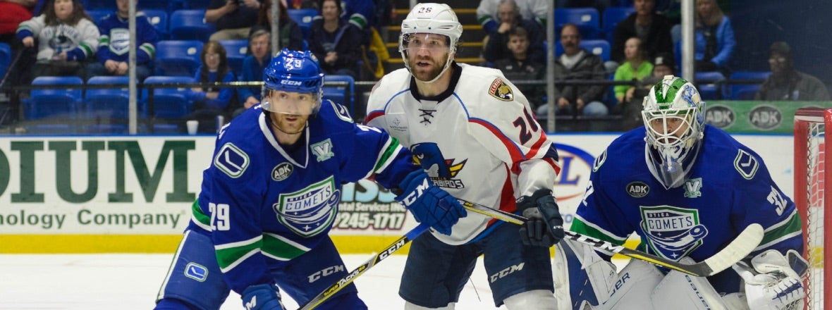 COMETS AND THUNDERBIRDS OPEN UP WEEKEND HOME AND HOME