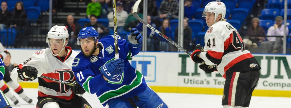 COMETS CONCLUDE SEASON SERIES AGAINST SENATORS