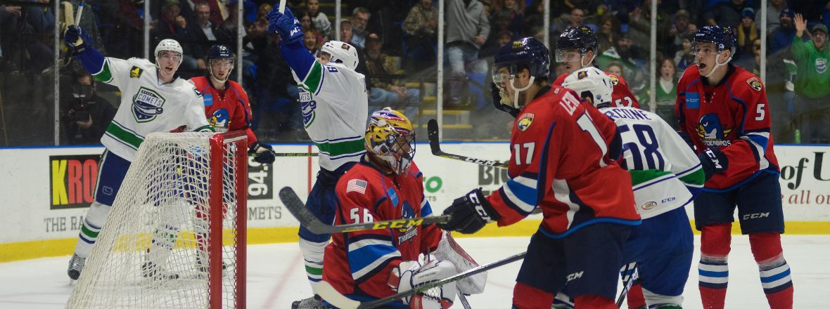 COMETS RETURN HOME TO FACE THUNDERBIRDS