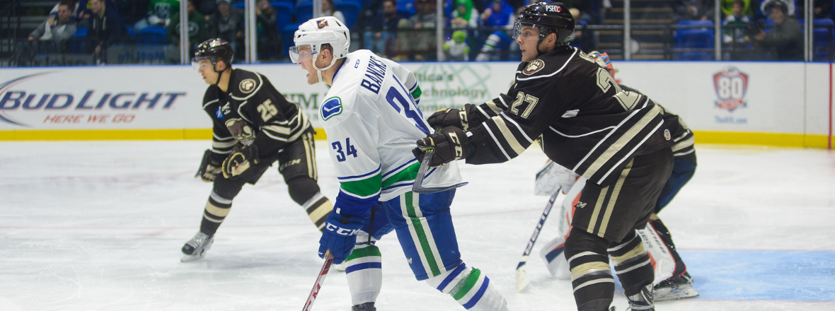 Comets Nab a Point in OT Loss