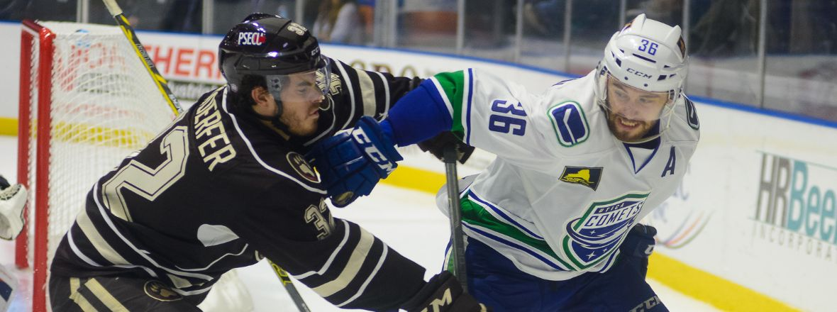 Comets Tripped Up by Bears