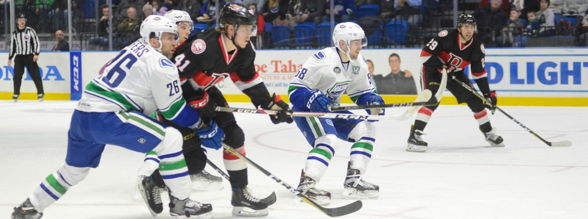 COMETS LOOK TO STAY HOT AGAINST SENATORS