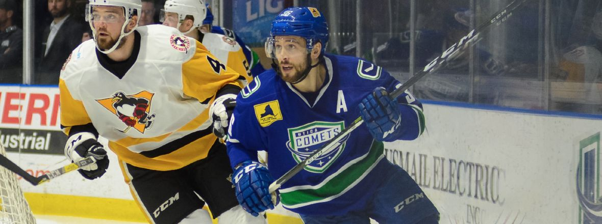 COMETS RETURN TO WILKES-BARRE FOR A WIN