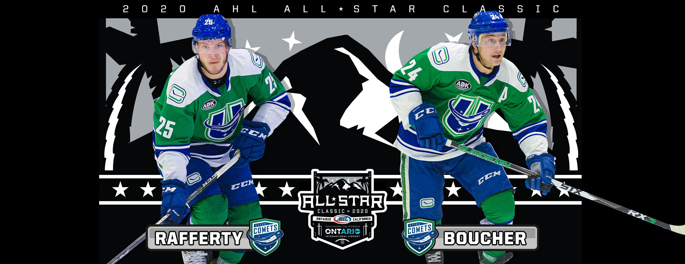 BOUCHER, RAFFERTY NAMED TO AHL ALL-STAR CLASSIC