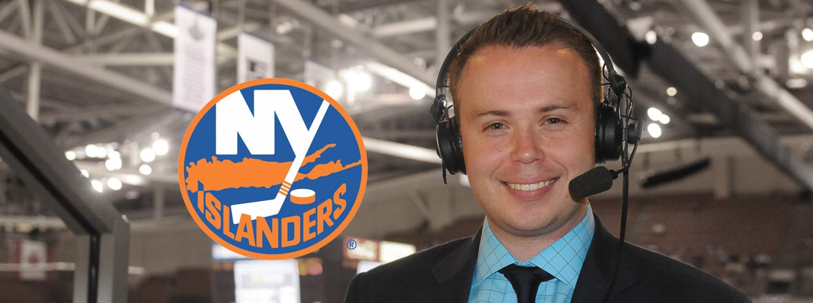 Brendan Burke Named as Islanders TV Play-by-Play Broadcaster