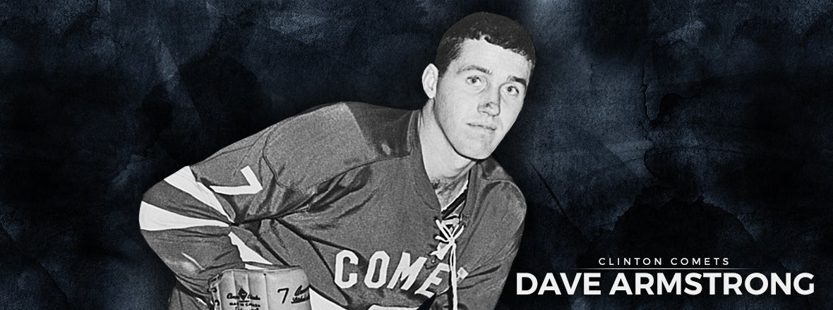 CLINTON COMETS & COMMUNITY - DAVE ARMSTRONG