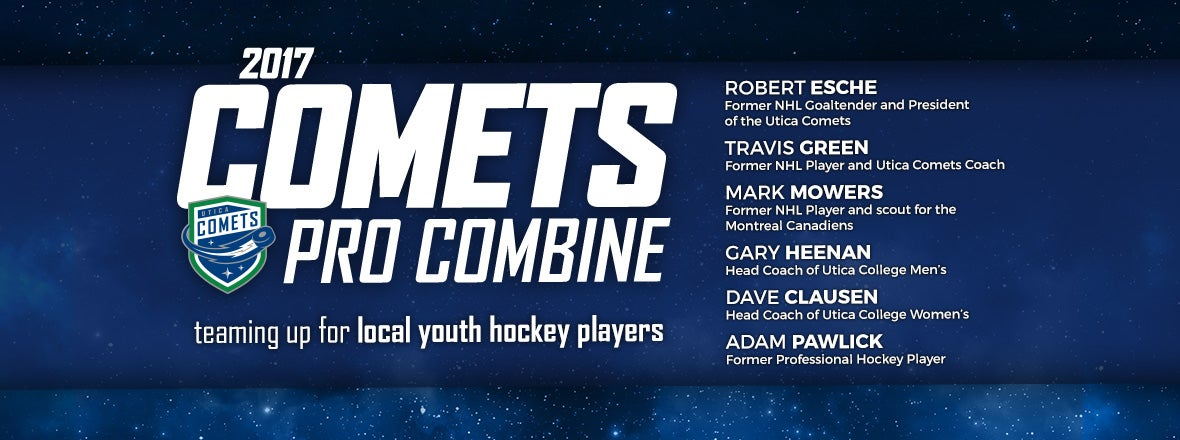 DATES SET FOR THIRD COMETS PRO COMBINE