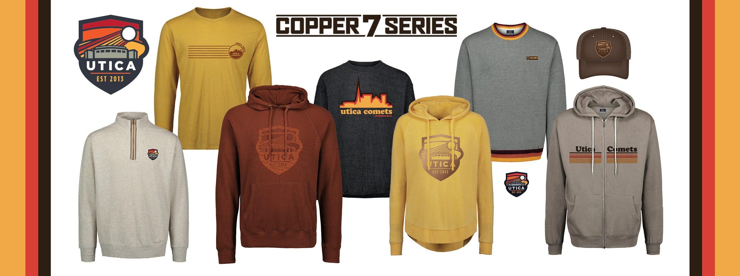 COMETS UNVEIL COPPER 7 SERIES CAPSULE COLLECTION