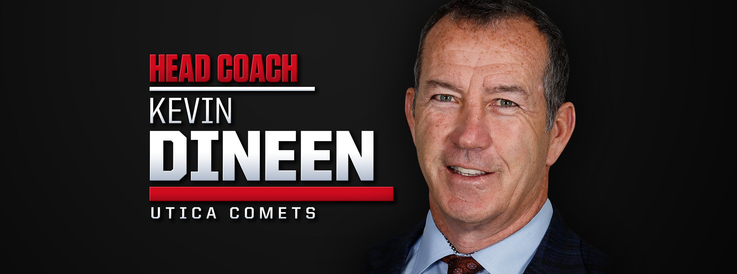 Kevin Dineen Named Third Head Coach in Comets History