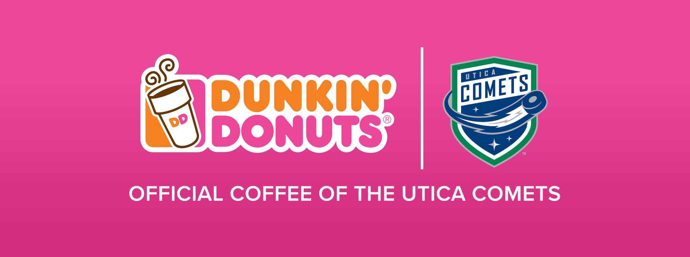 DUNKIN DONUTS NAMED OFFICIAL COFFEE