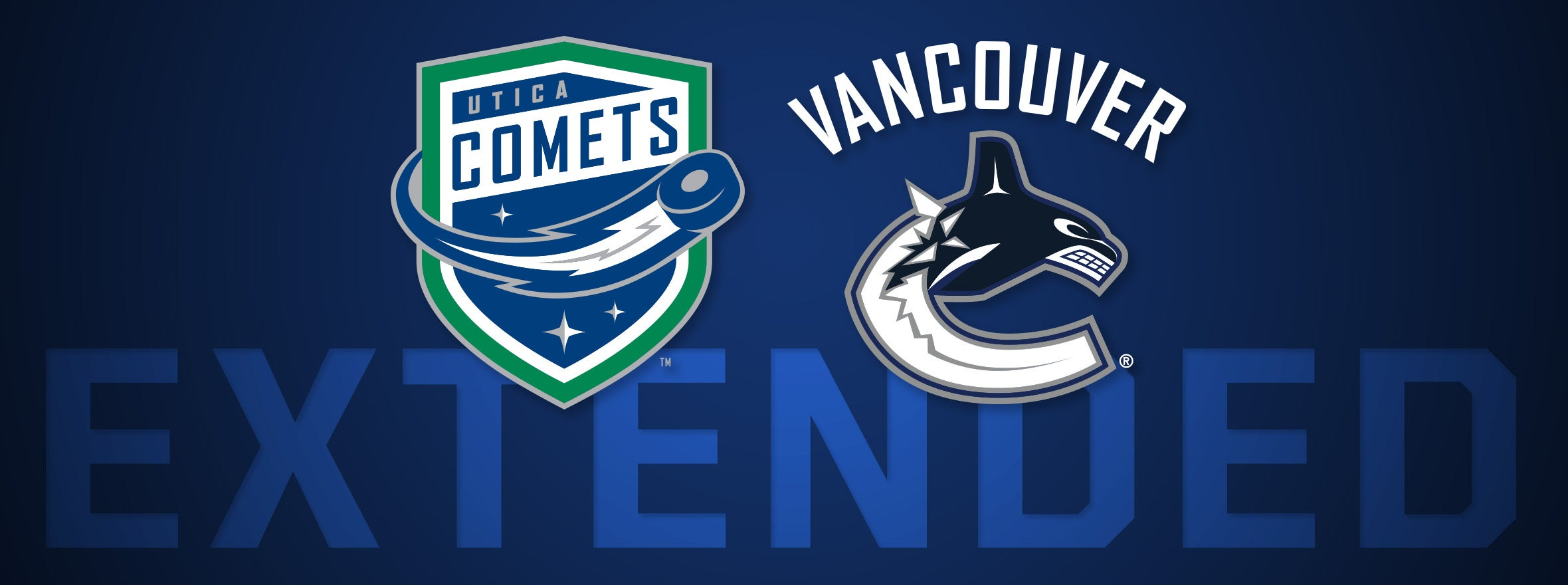 CANUCKS EXTEND AHL AFFILIATE DEAL WITH UTICA