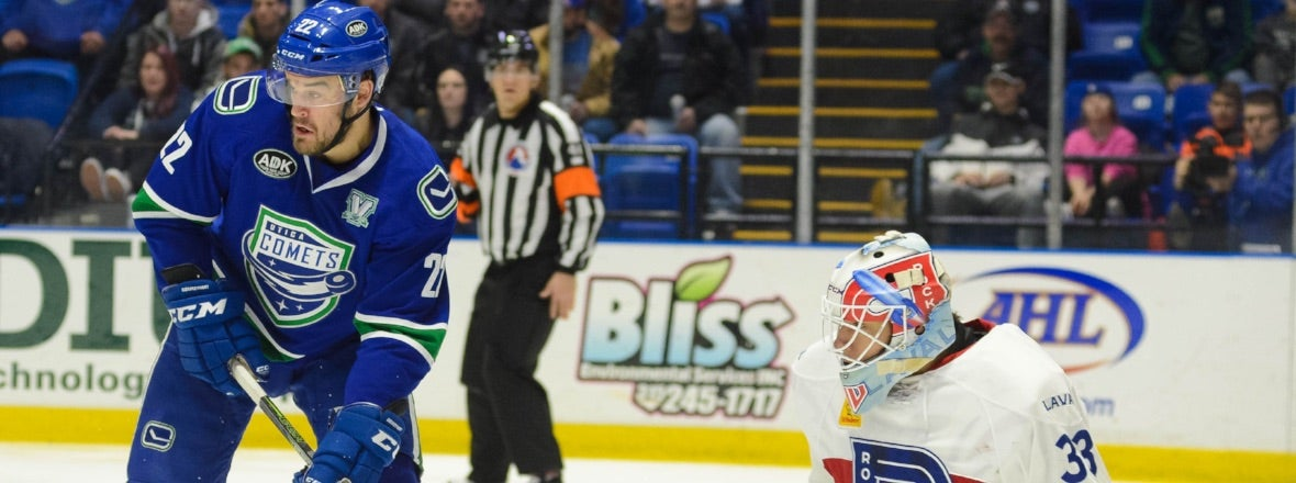 COMETS AND ROCKET FACEOFF FOR FINAL TIME THIS SEASON