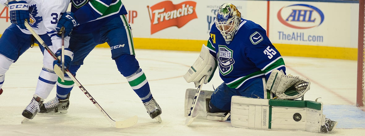 COMETS SIGN GOALTENDER MICHAEL GARTEIG