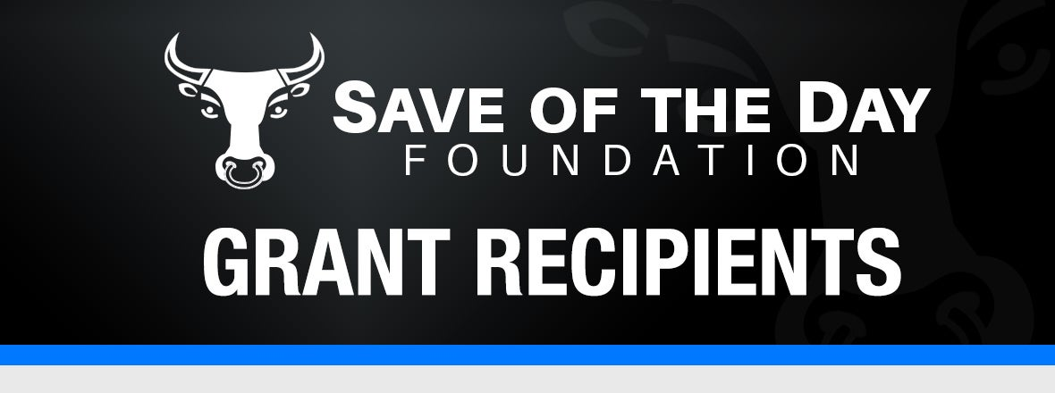 Save of the Day Names Grant Winners