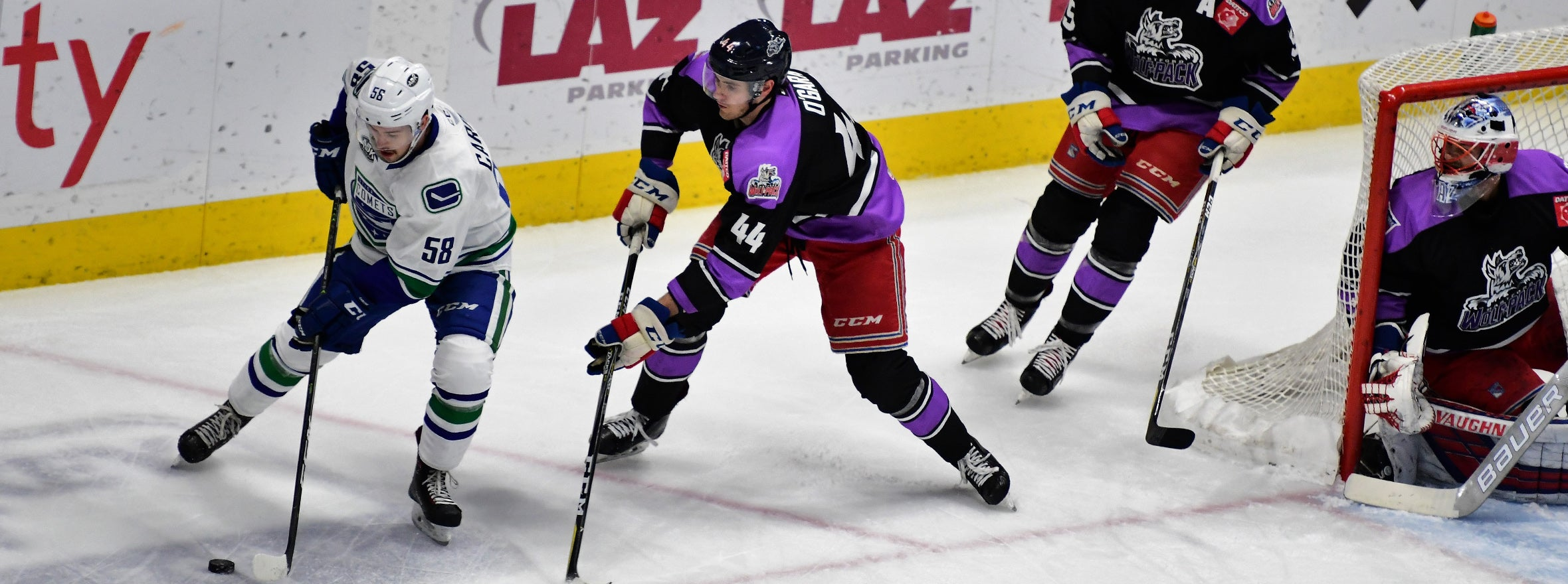 FIVE UNANSWERED GOALS SINK COMETS
