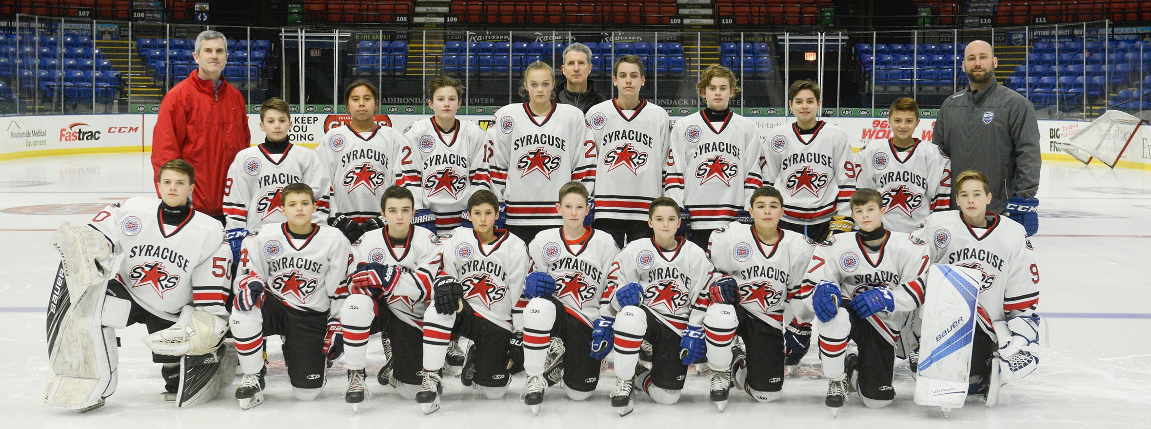 SYRACUSE STARS PEE WEE TEAM PREPPING FOR QUEBEC TOURNAMENT