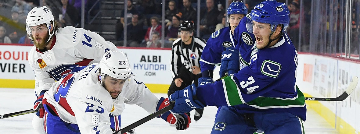 COMETS DOWNED IN LAVAL DESPITE LATE RALLY