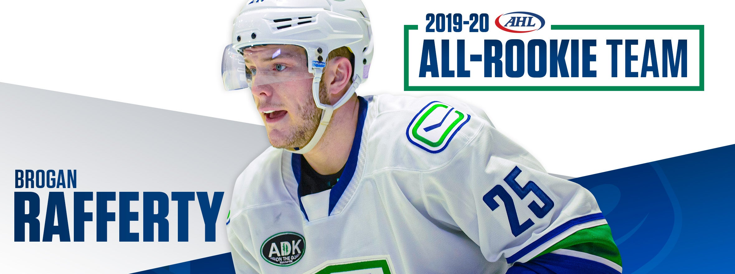 RAFFERTY NAMED TO AHL ALL-ROOKIE TEAM