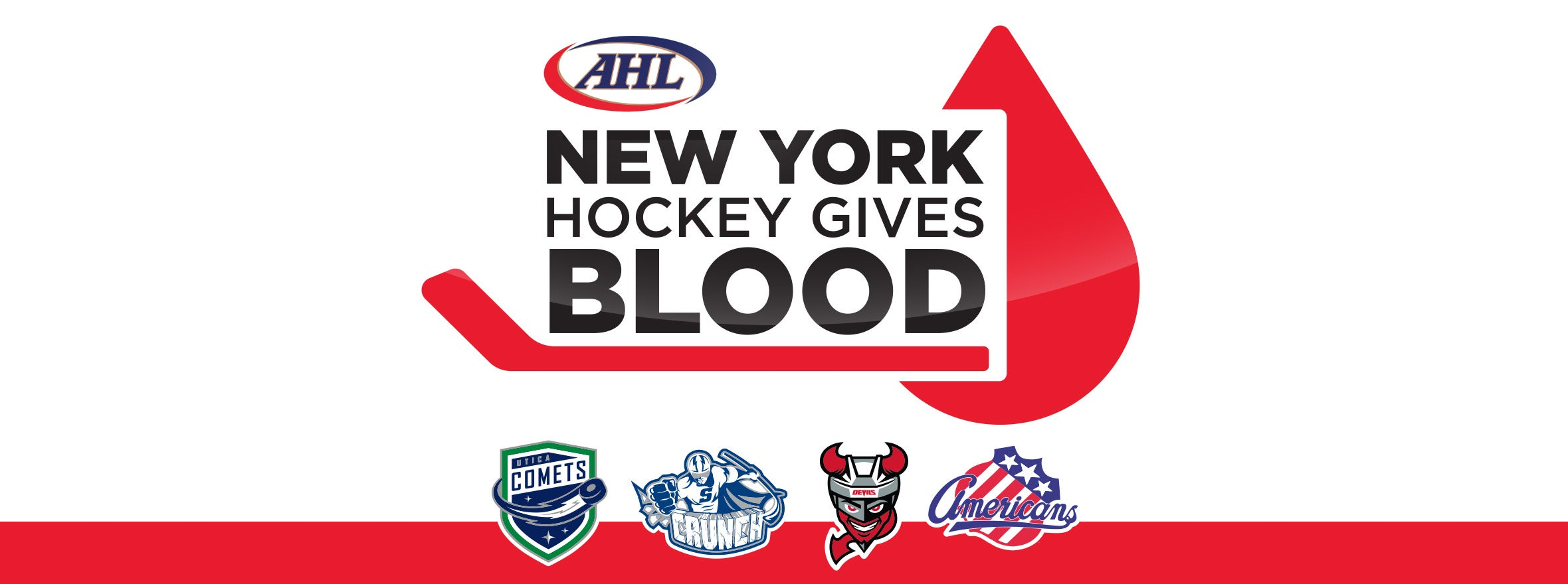 NEW YORK HOCKEY GIVES BLOOD