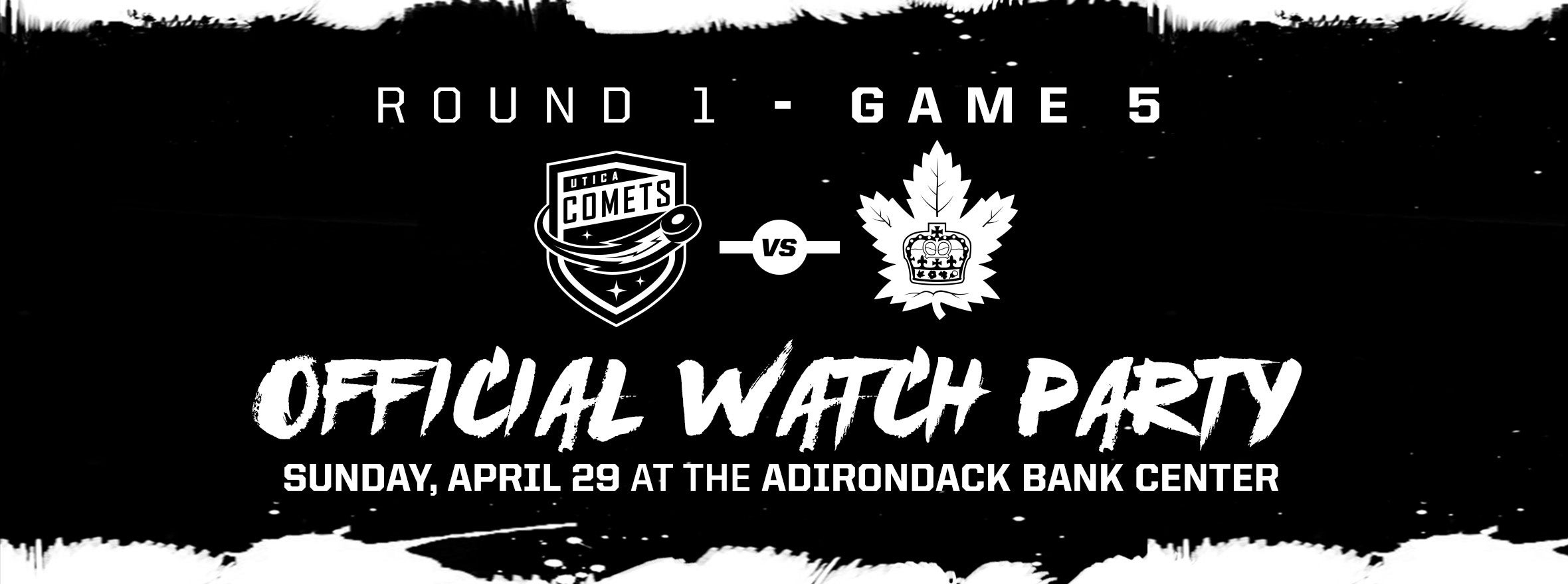 COMETS ANNOUNCE GAME FIVE WATCH PARTY