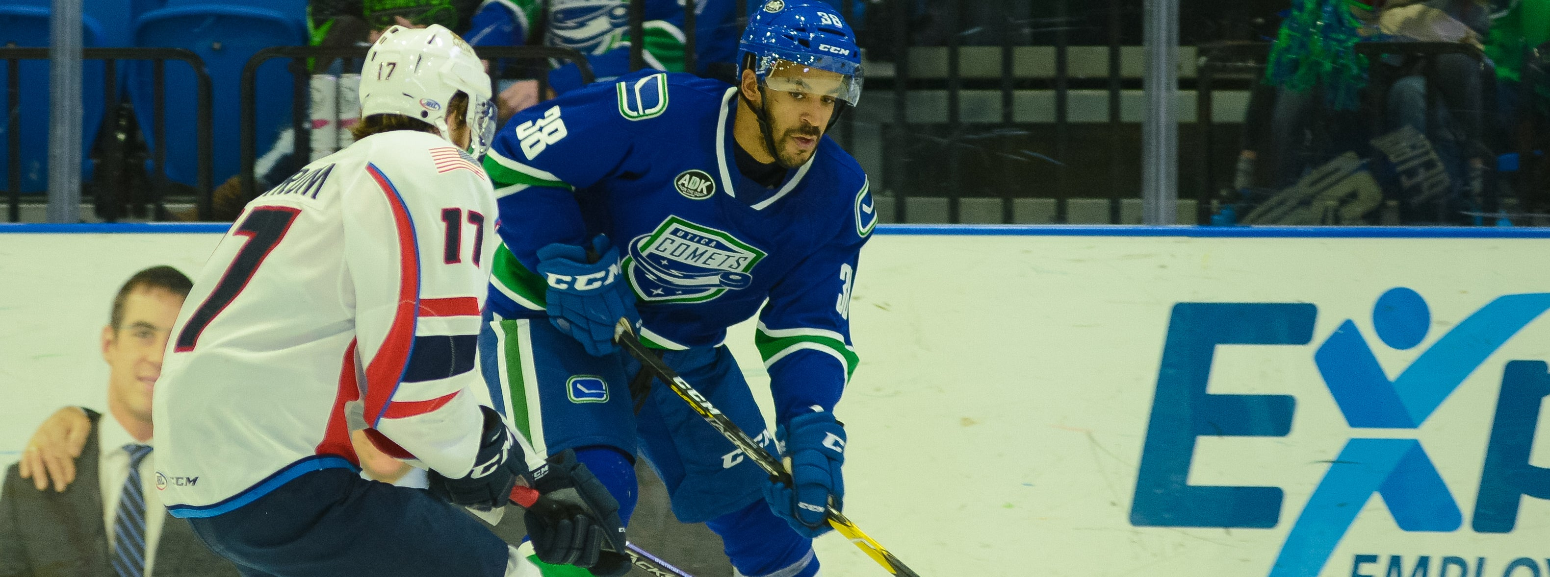 COMETS INK FOUR TO AHL DEALS