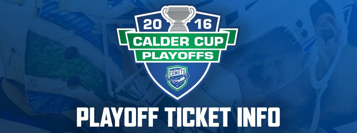 Playoff Tickets on Sale Apr. 22