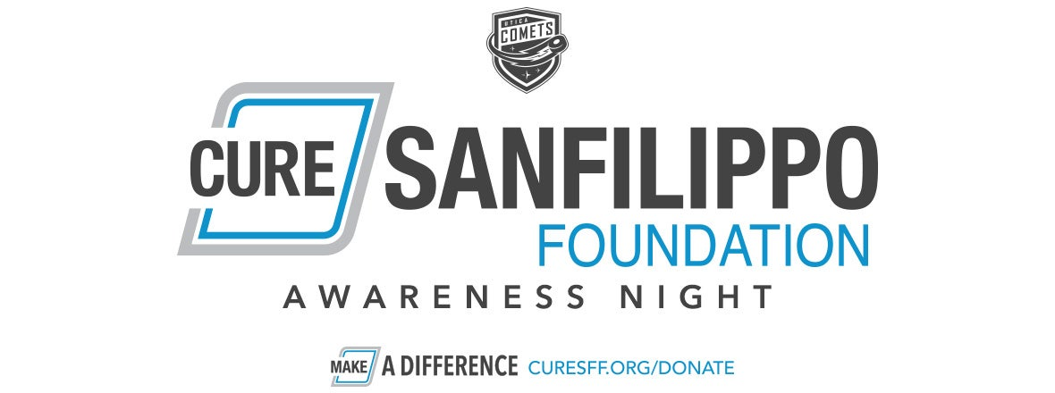 COMETS ANNOUNCE SANFILIPPO AWARENESS NIGHT