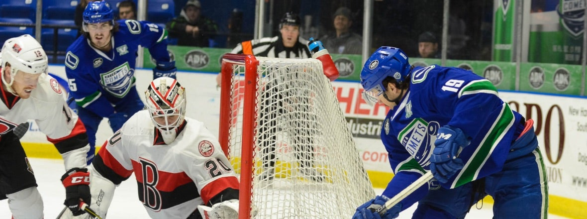 COMETS AND SENATORS BATTLE IN ST. PATRICK'S DAY SHOWDOWN