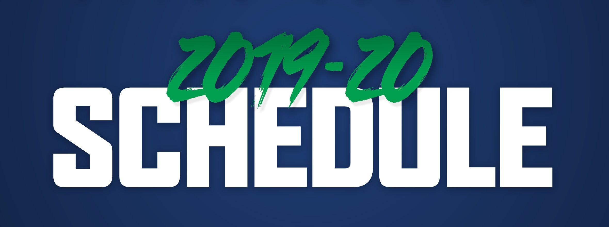 COMETS 2019-20 SCHEDULE RELEASE