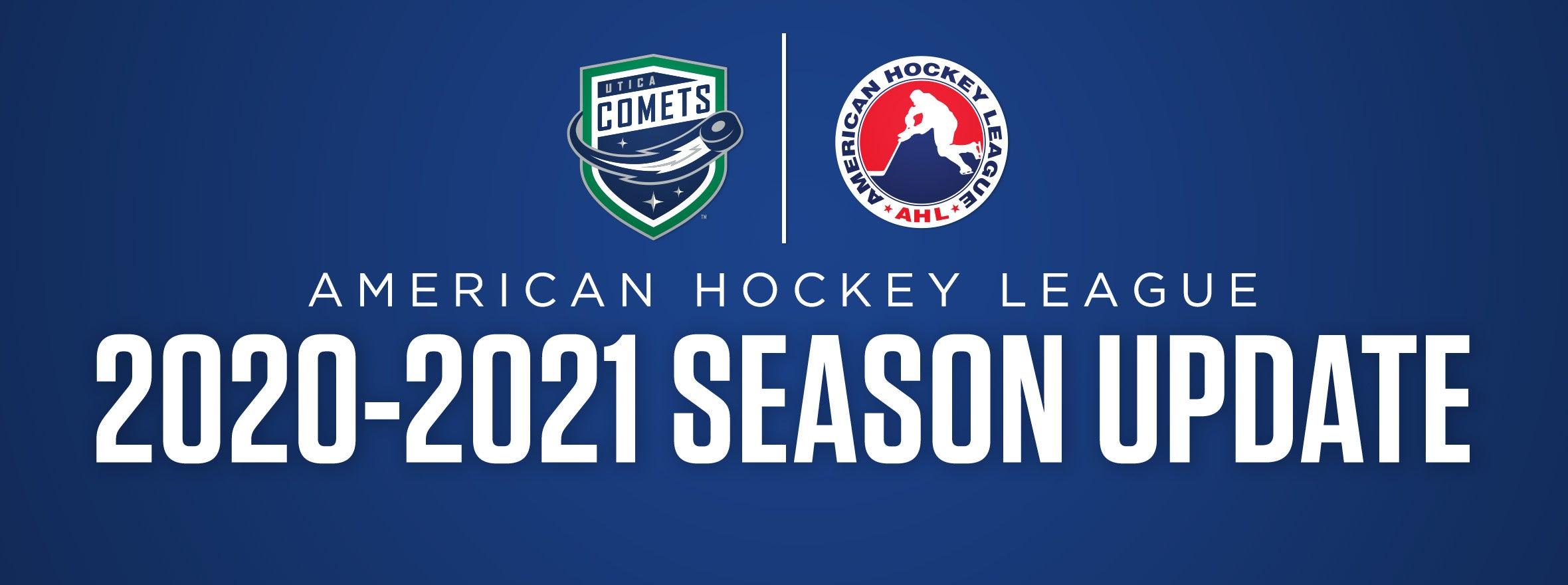 2020-21 AHL Season Update