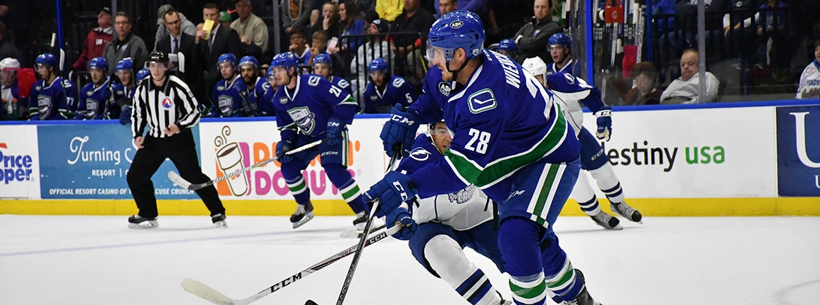 CANUCKS REASSIGN DEFENSEMAN PATRICK WIERCIOCH