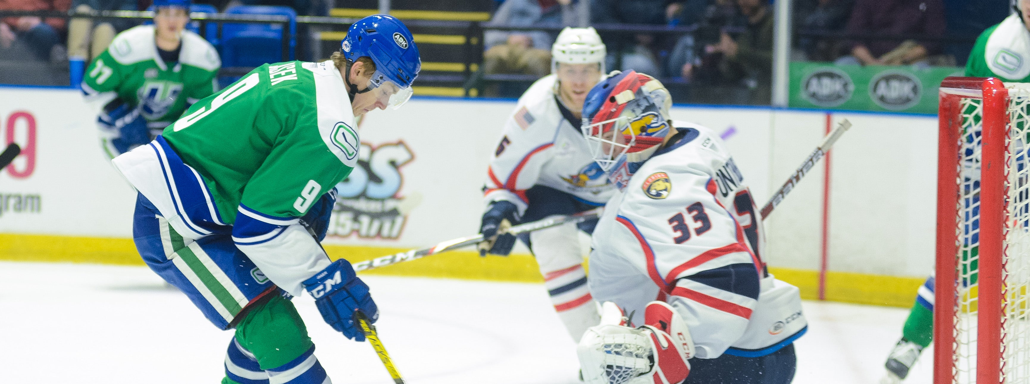COMETS POINT STREAK SNAPPED BY SPRINGFIELD
