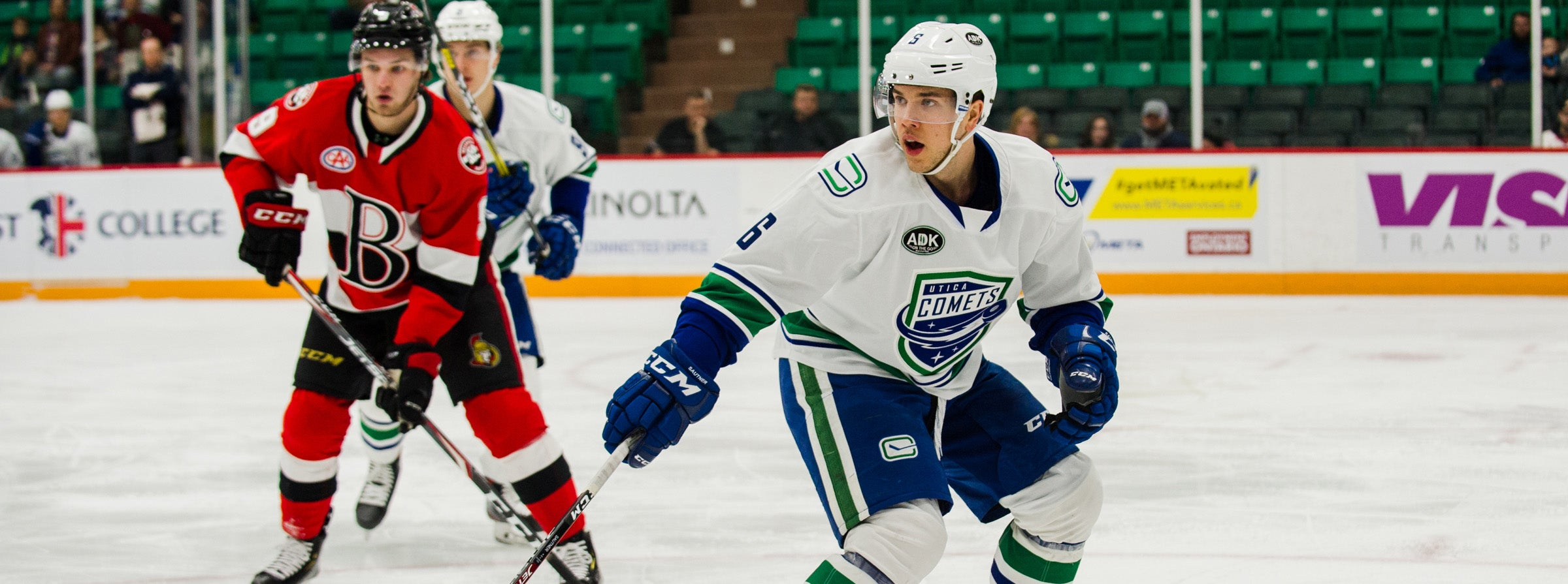 COMETS COME FROM BEHIND FOR DIVISIONAL WIN IN BELLEVILLE