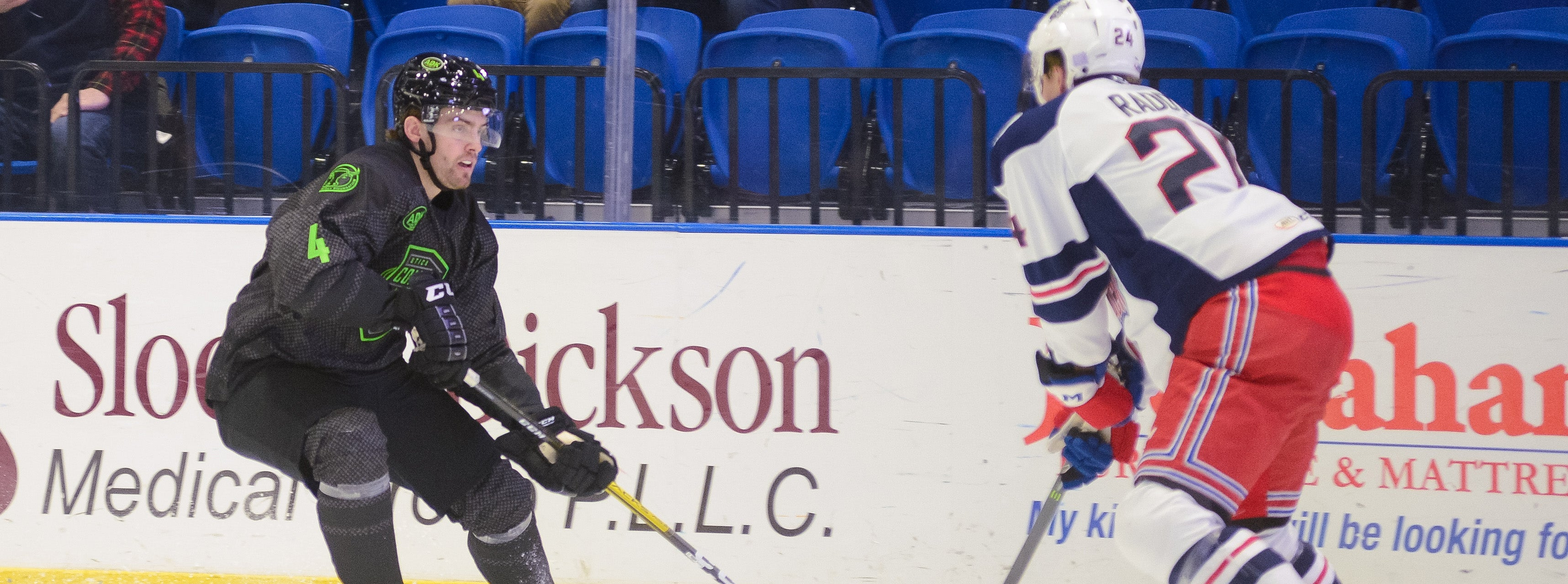 COMETS TANGLE WITH WOLF PACK FOR SECOND STRAIGHT GAME