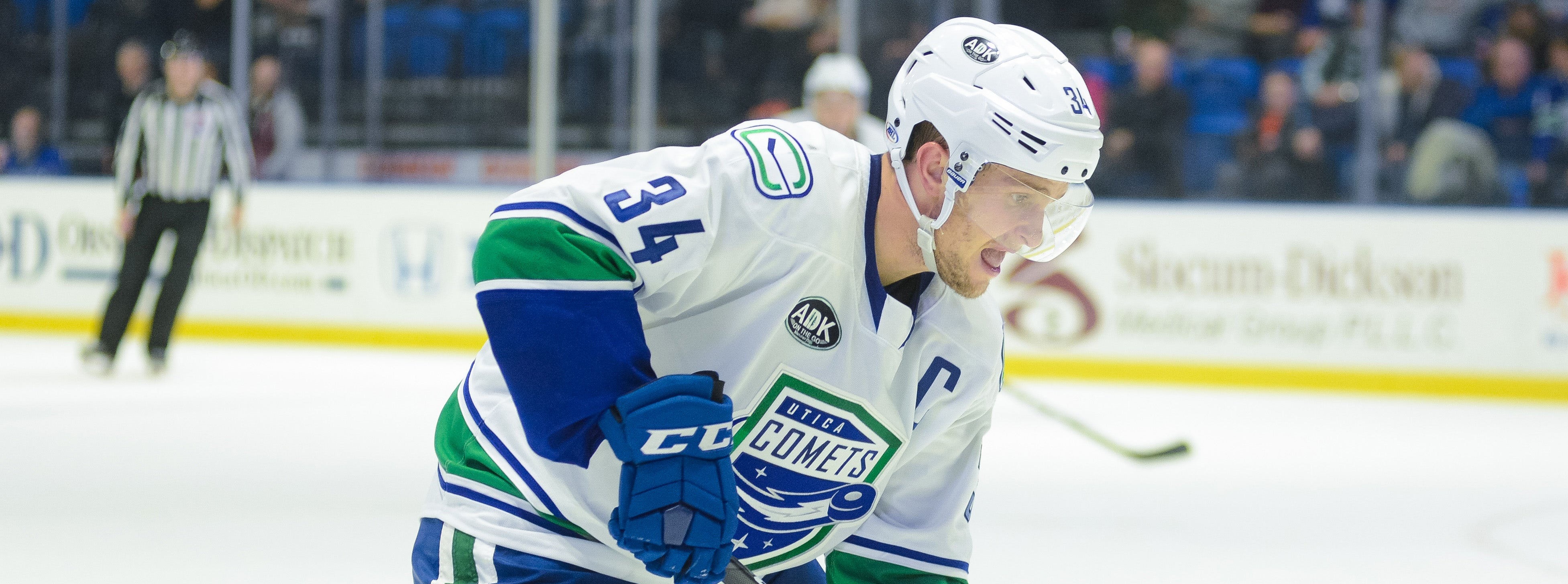 COMETS FACE MONSTERS IN SATURDAY MATINEE