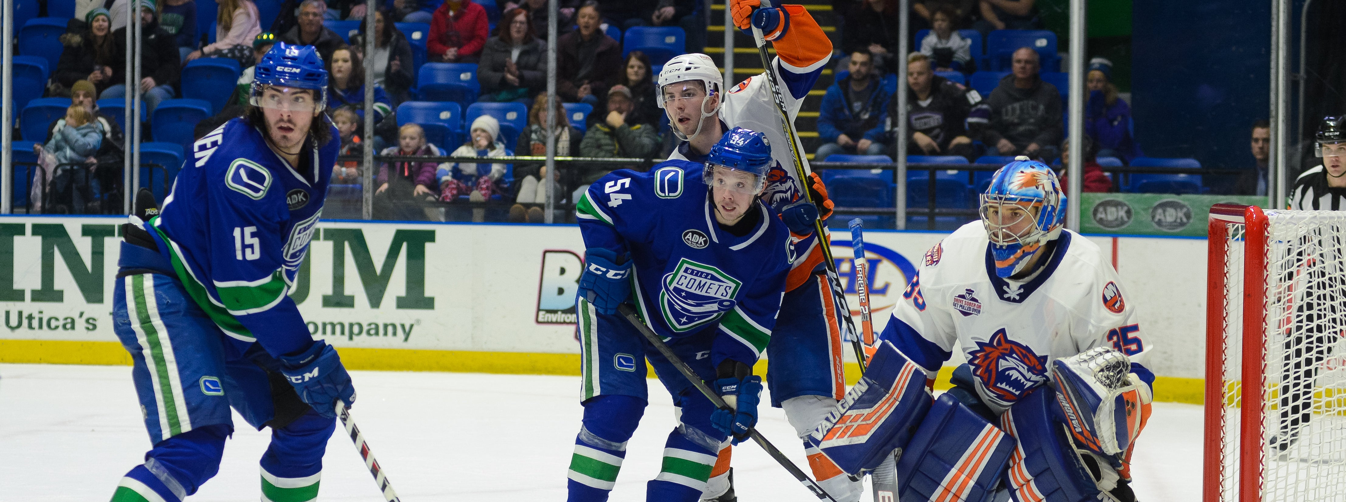 COMETS HEAD TO CONNECTICUT TO FACE SOUND TIGERS