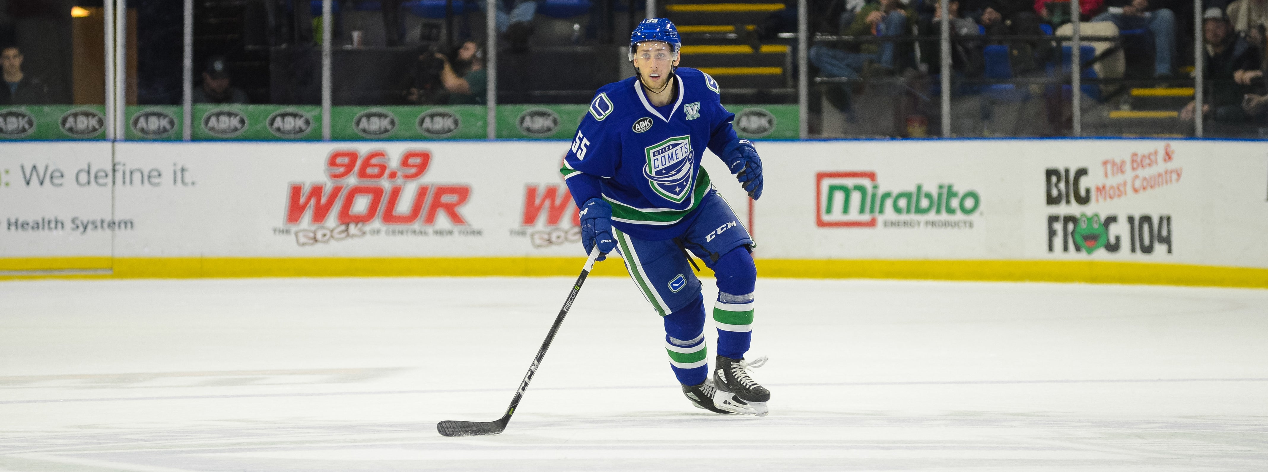 COMETS TOP DEVILS TO EXTEND POINT STREAK TO 14