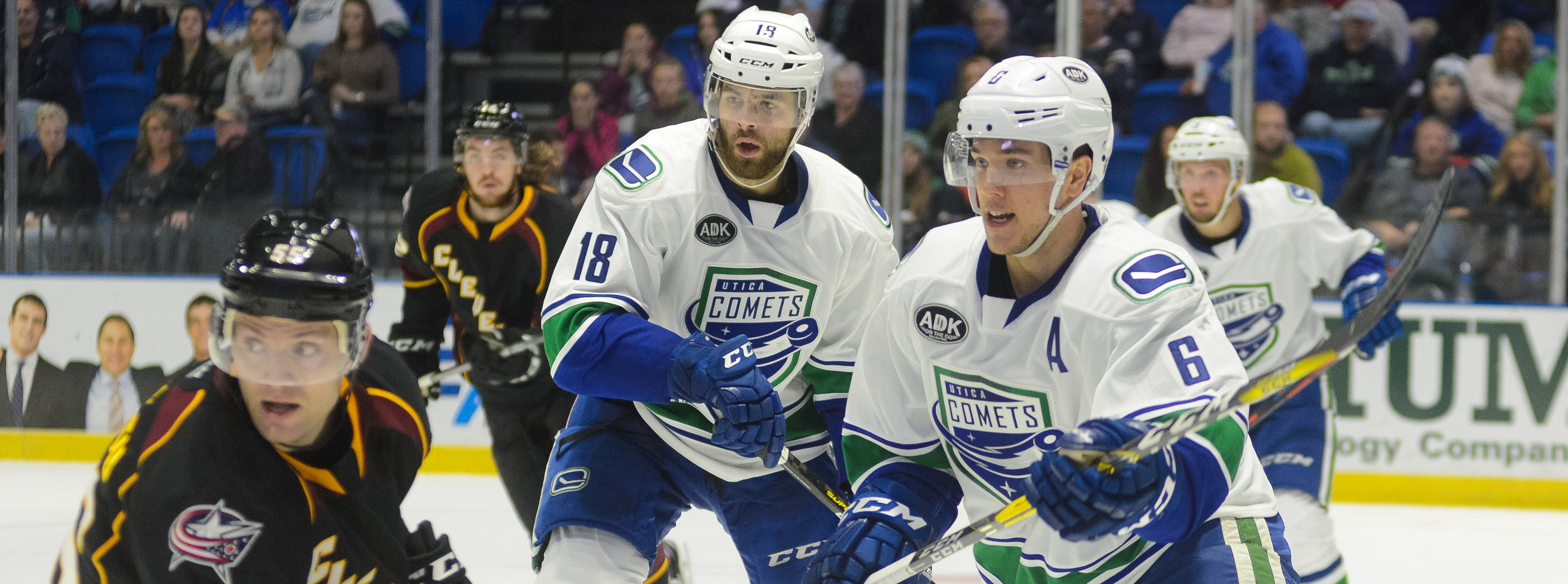COMETS FACE MONSTERS IN SUNDAY MATINEE