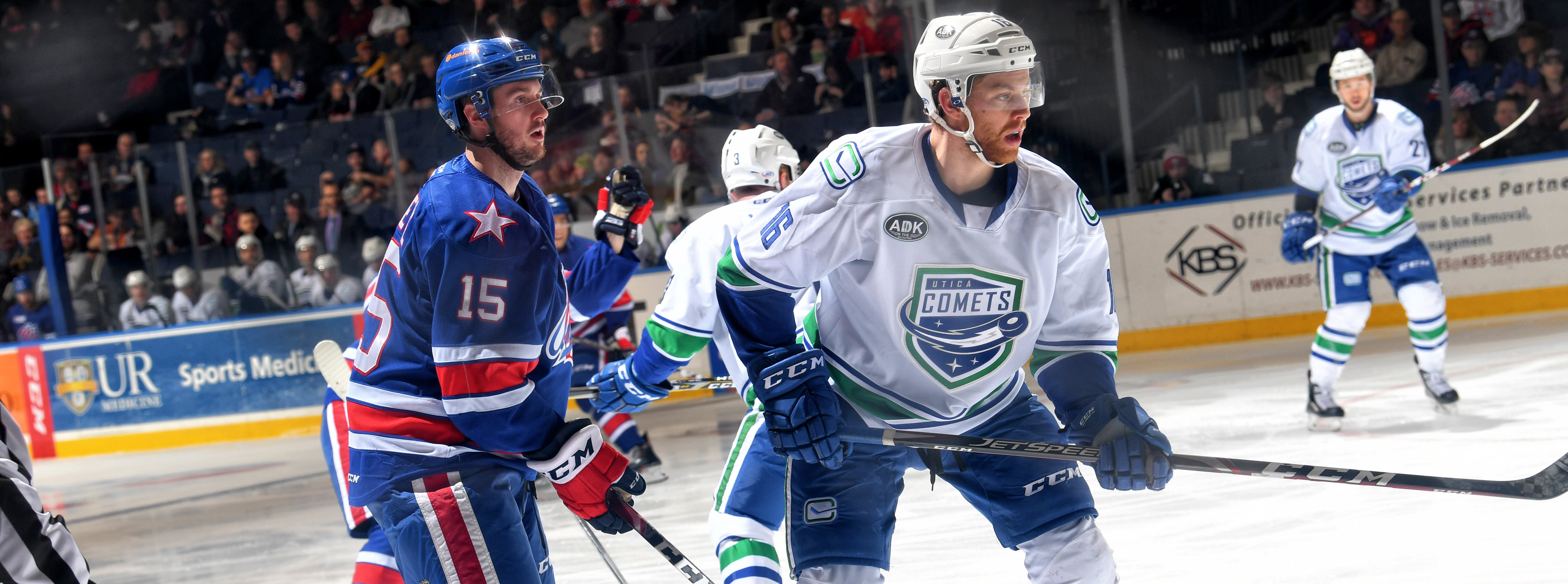 COMETS GRIND OUT DIVISIONAL WIN IN ROCHESTER
