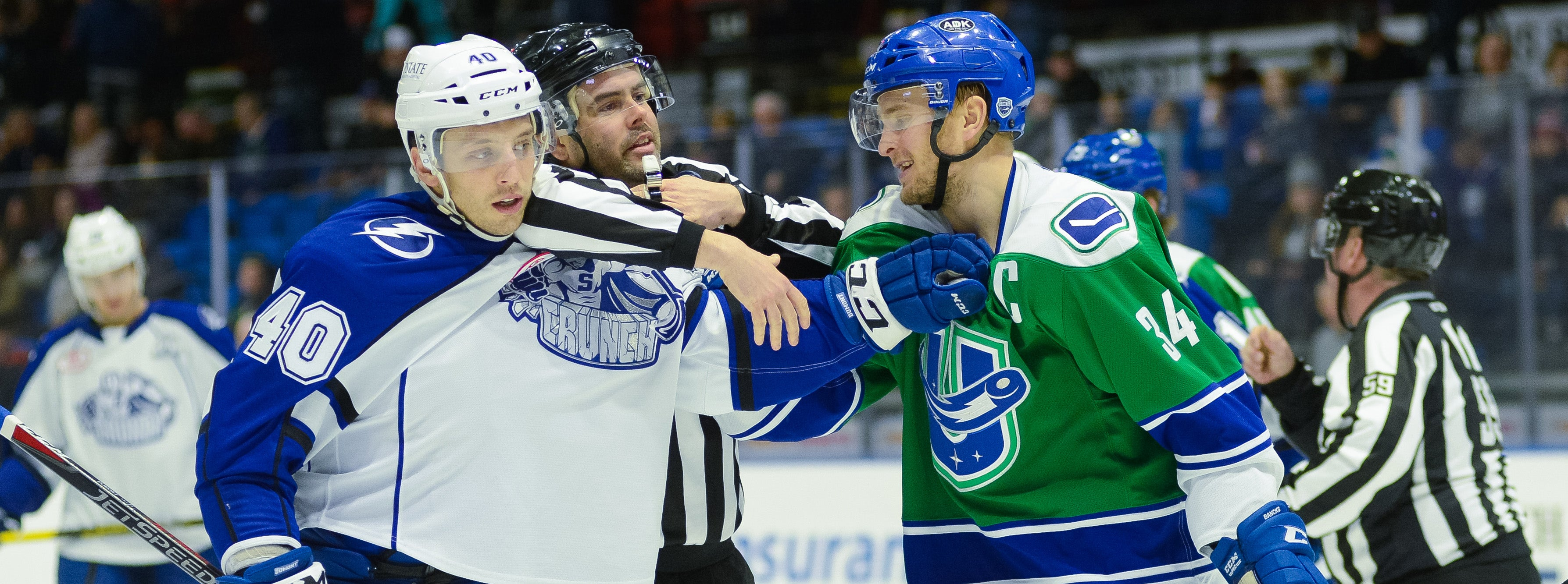 COMETS, CRUNCH THROWDOWN IN GAME EIGHT OF GALAXY CUP