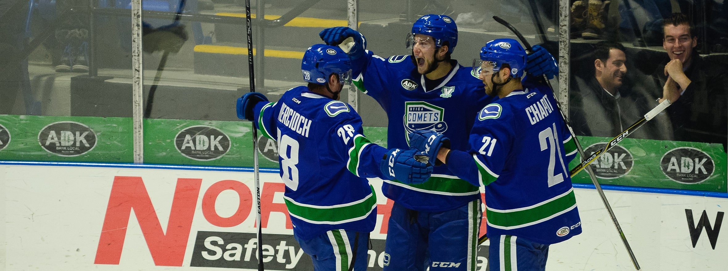 COMRIE'S TWO-GOAL NIGHT SNAPS COMETS LOSING SKID