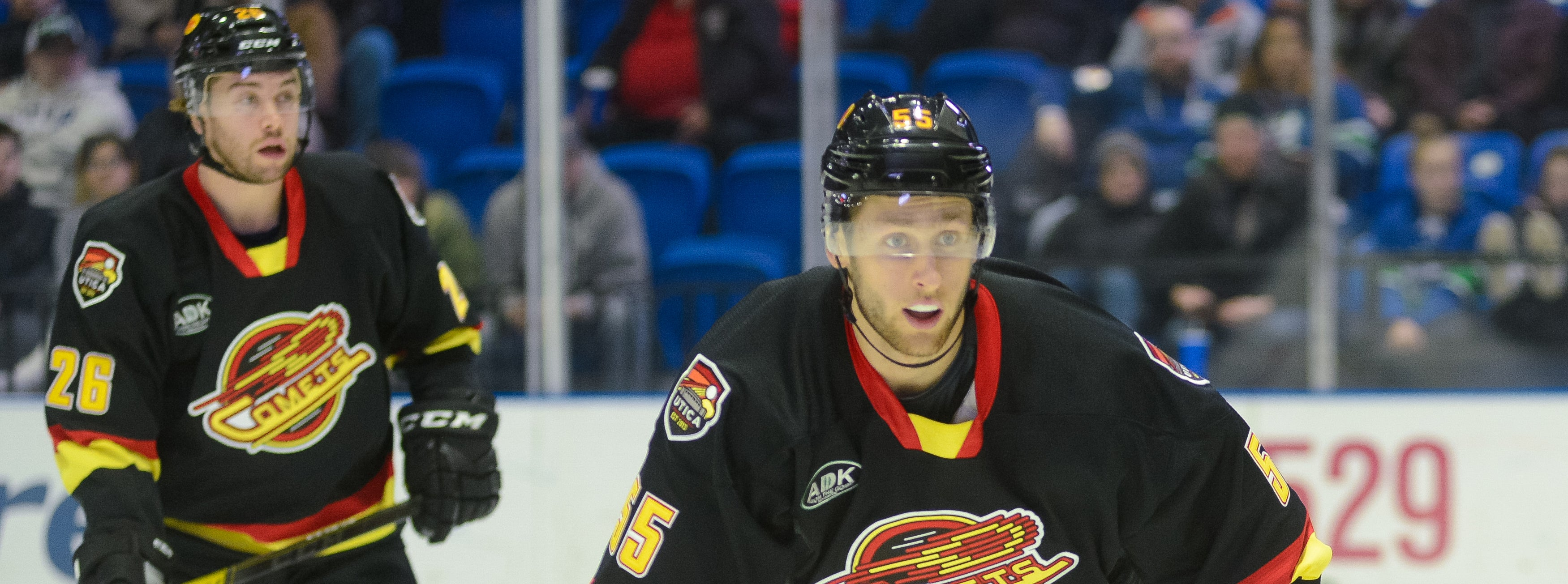 COMETS RETURN TO ACTION AGAINST CRUNCH