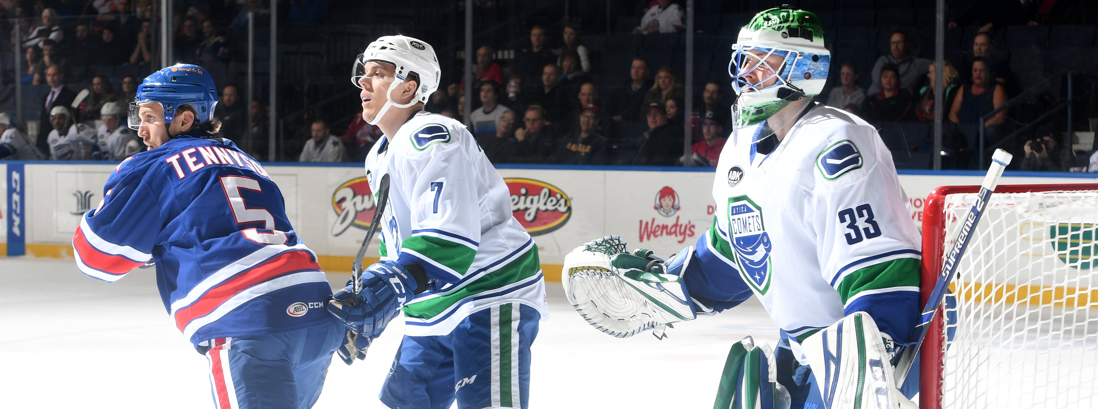 COMETS SHUTOUT IN DIVISIONAL BATTLE WITH ROCHESTER