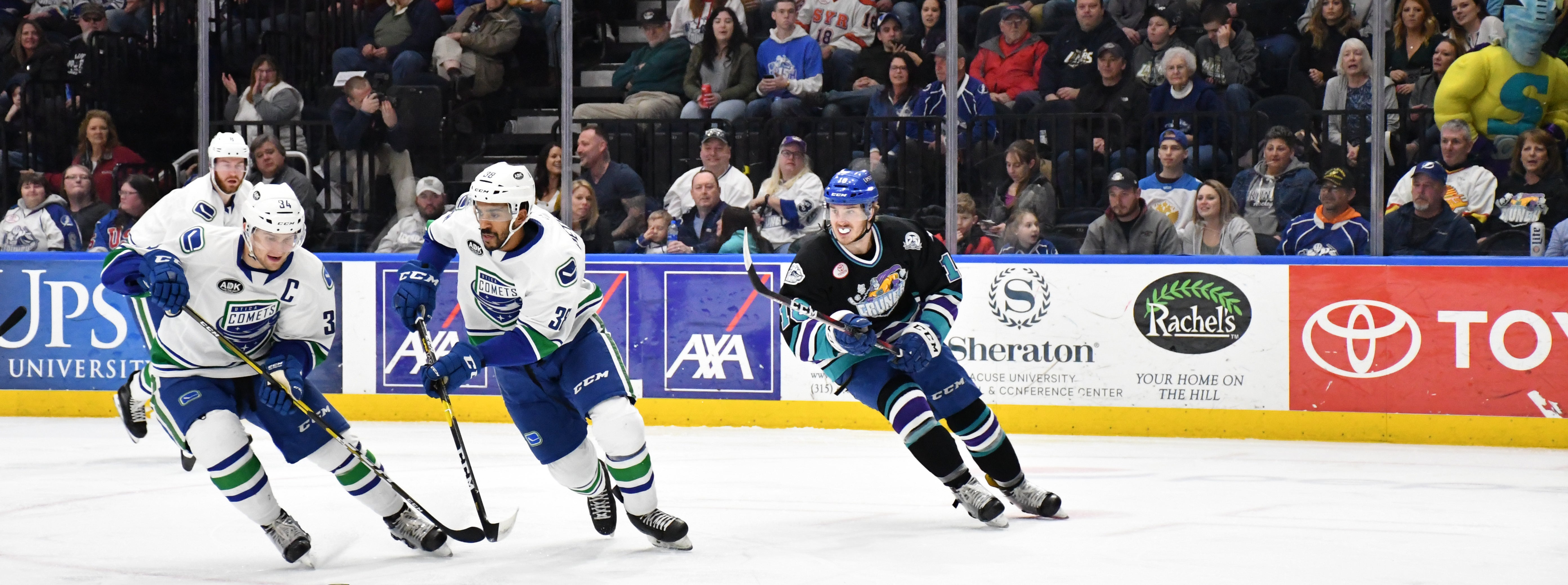 COMETS QUICK START SPOILED BY CRUNCH