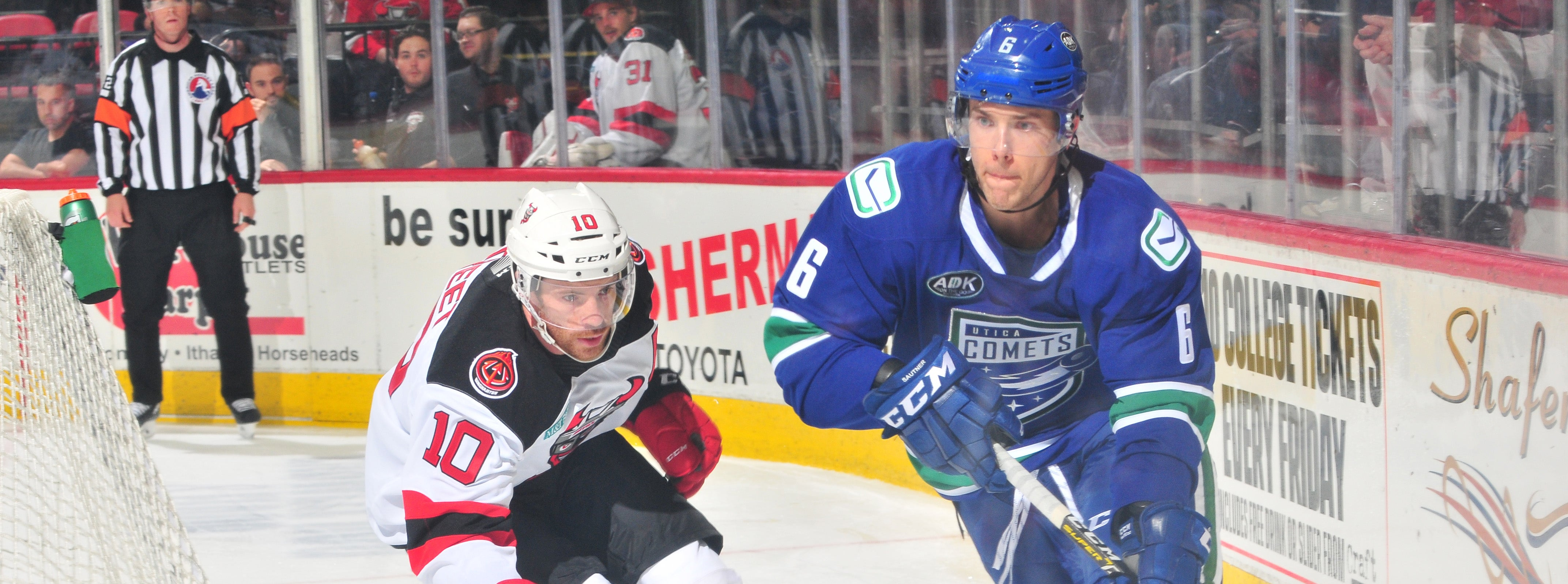 SECOND PERIOD SURGE LIFTS COMETS TO OPENING NIGHT WIN