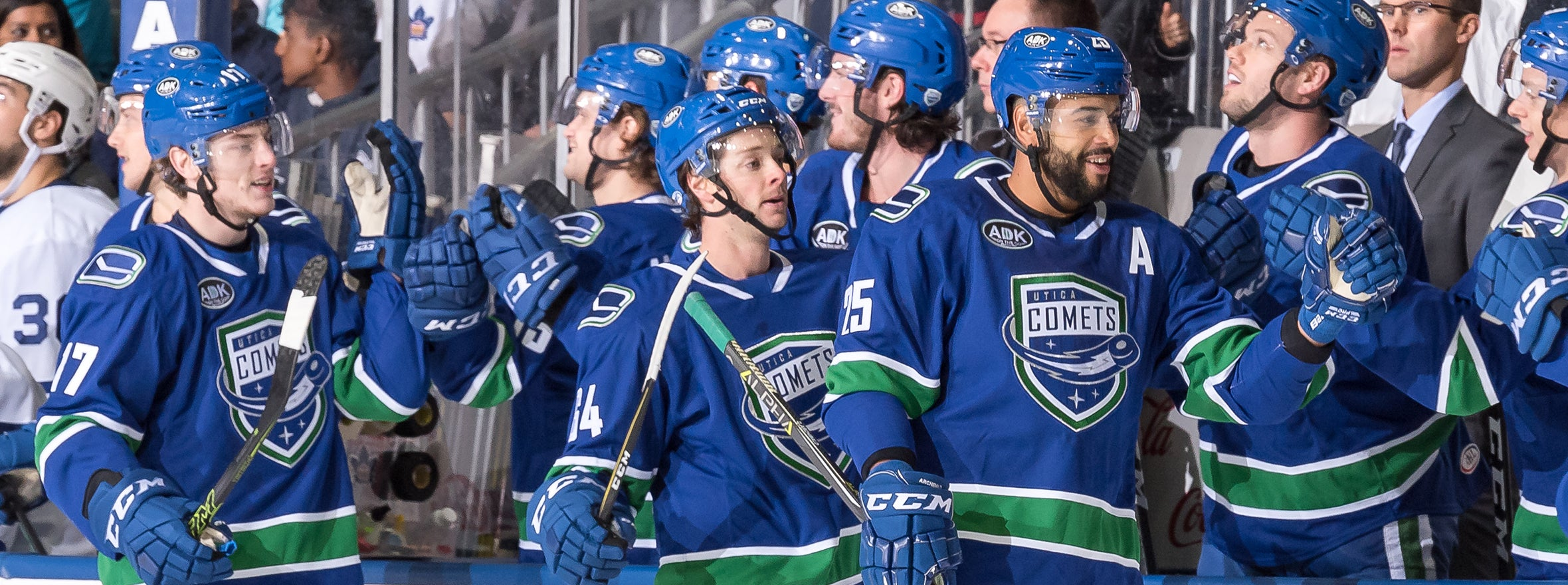 BOUCHER, GAUDETTE POWER COMETS TO VICTORY OVER MARLIES
